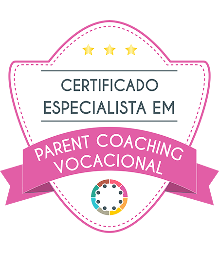 Certificado especialista em Parent Coaching Vocacional