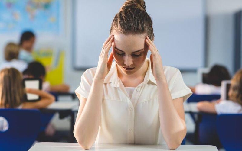 Sindrome burnout em professor