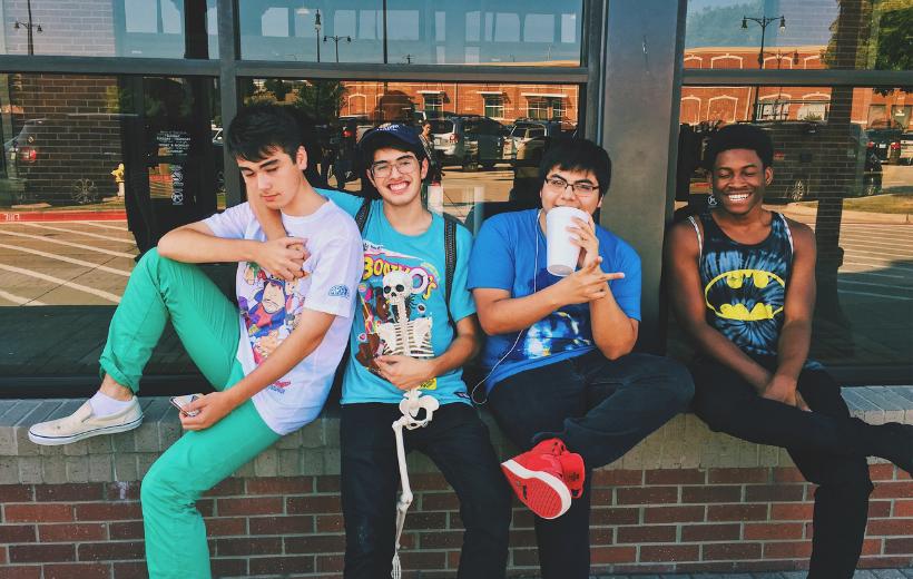 amizade adolescência